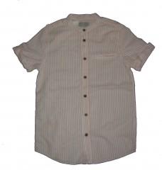 Zara piros csíkos rövidujjú ing (140) 085413ca06